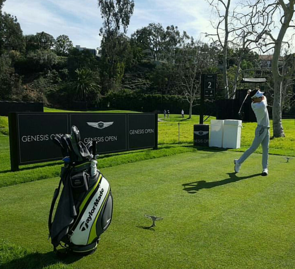Jinho Choi Joins PGA Tour Regulars at the Genesis Open